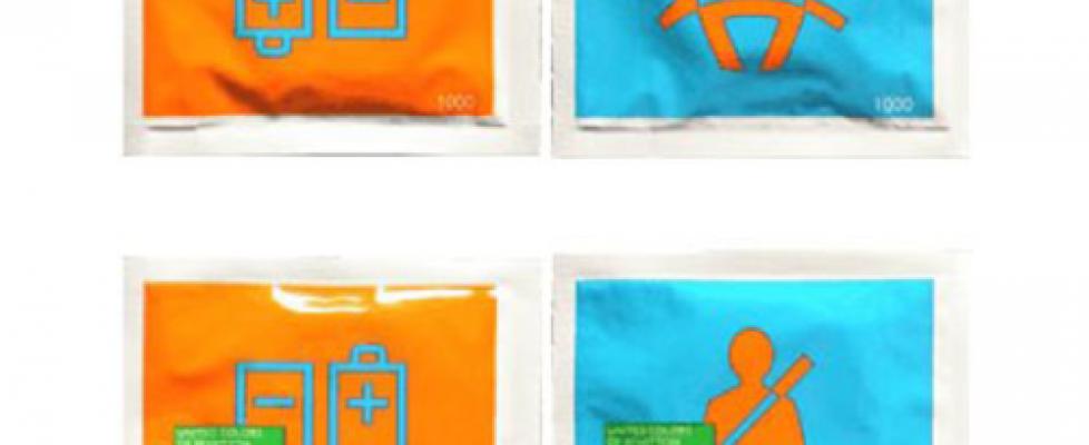 Preservativos Coloridos por Benetton