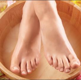 Cuidados com os pés na gravidez