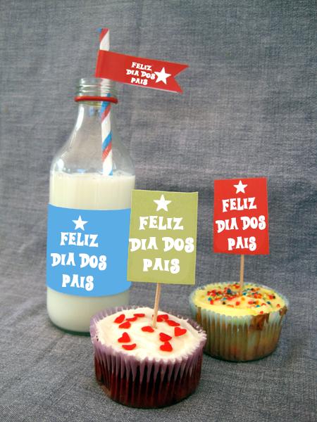 Rótulos , tottens , cupcakes