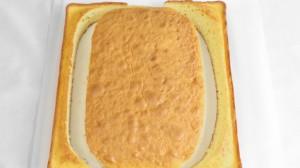 bizcocho cortado Tarta de peli: Minios