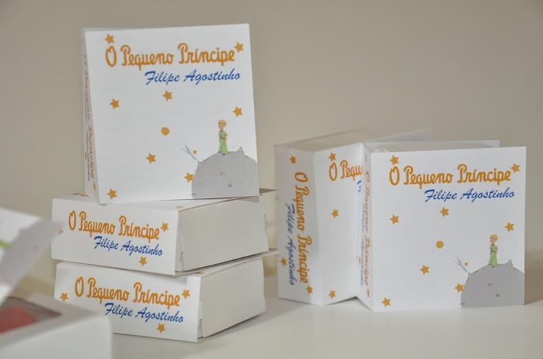 Convite livro pequeno príncipe