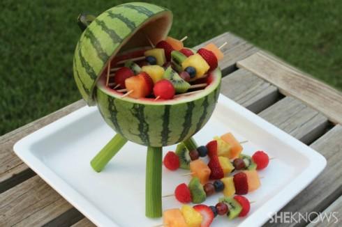 Decorando com frutas – Comida Divertida