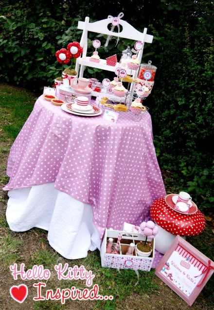Festa Hello Kitty - mães Brasileiras