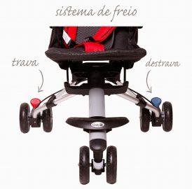 Carrinho de passeio bebê e criança até 17kg testado por mim