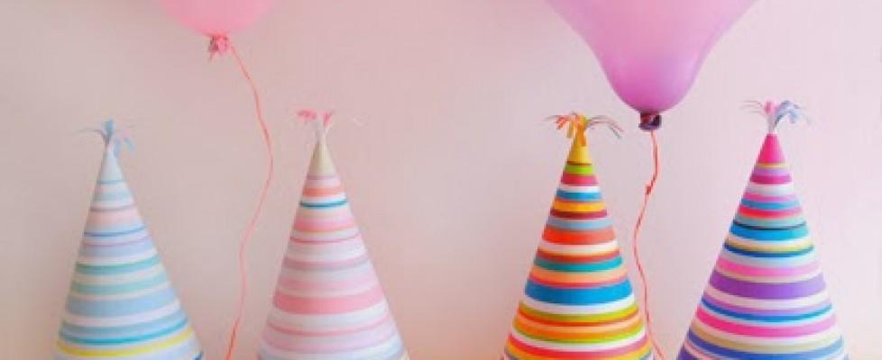 Chapéu de aniversário – Para Imprimir