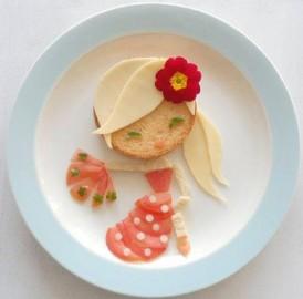 Inspiração de pratos Bentô Kids