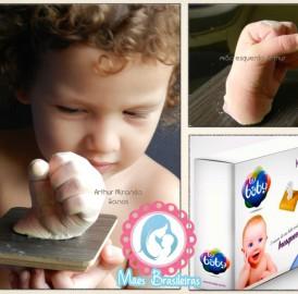 Faça você mesmo, escultura do pezinho ou mãozinha do seu filho