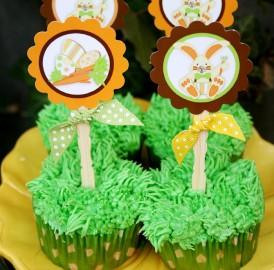 Festa de aniversário tema Páscoa