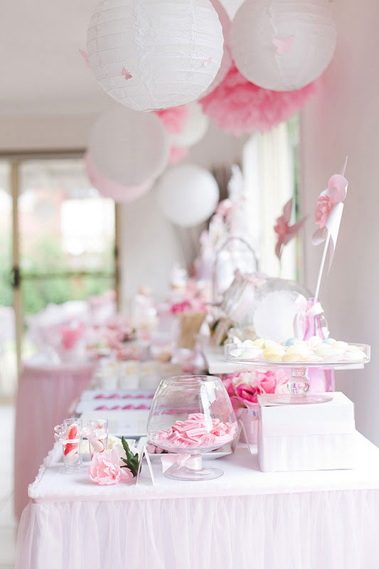 balões festa rosa