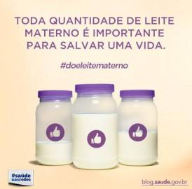 Campanha Nacional Doe Leite Materno
