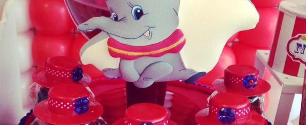 Festa de aniversário tema Dumbo