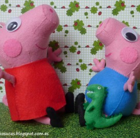 Peppa Pig Faça você mesma – Molde
