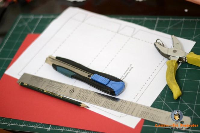 Sacolinha de papel - Faça você mesmo
