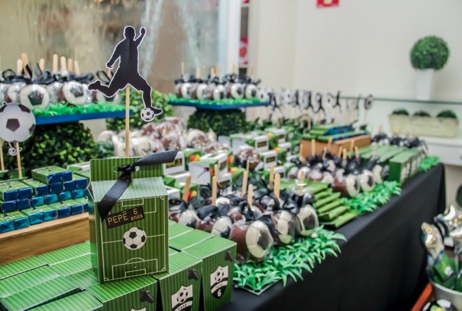 Tema de Aniversário - Futebol
