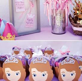 Festa de Aniversário – Princesa Sofia – Princess Sophia