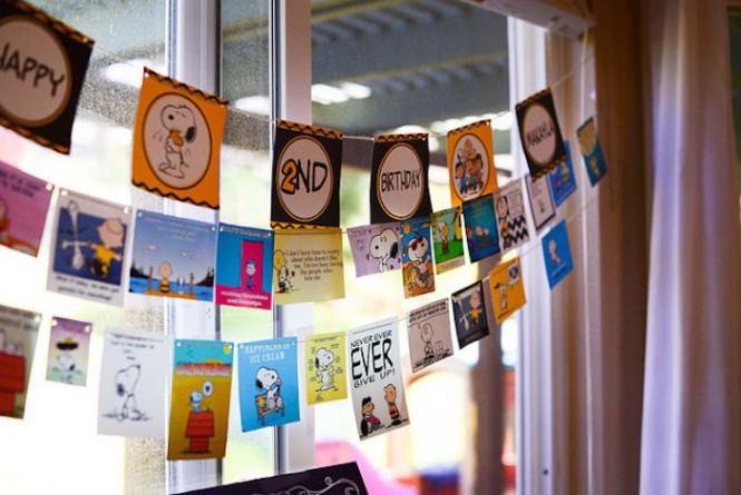 Mães Brasileiras - aniversário Snoopy e Charlie Brown