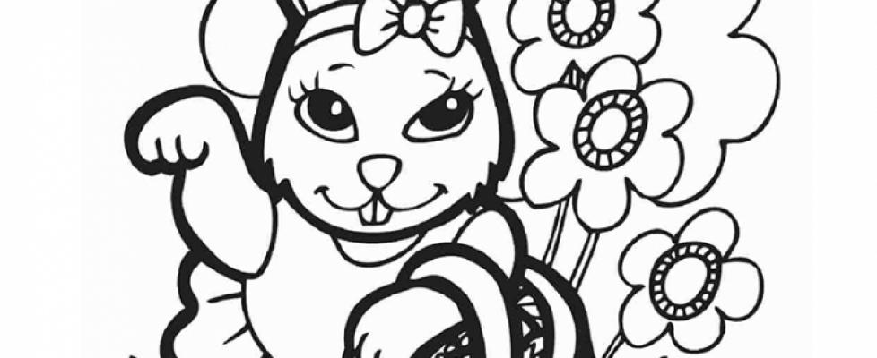 Desenhos De Pascoa Para Imprimir E Colorir