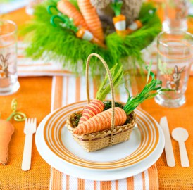 Como decorar a mesa para Páscoa