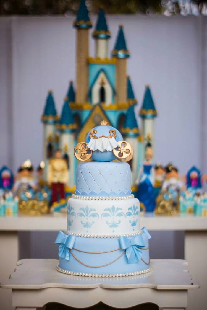 Cinderella Cake Decoration Ideas