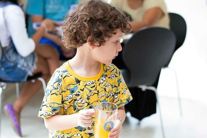 Arthur festa de 4 anos