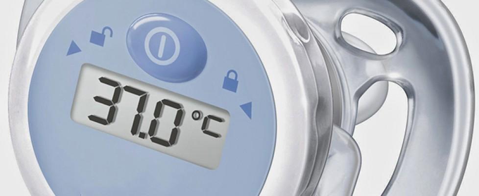 chupeta termômetro não é recomendada!