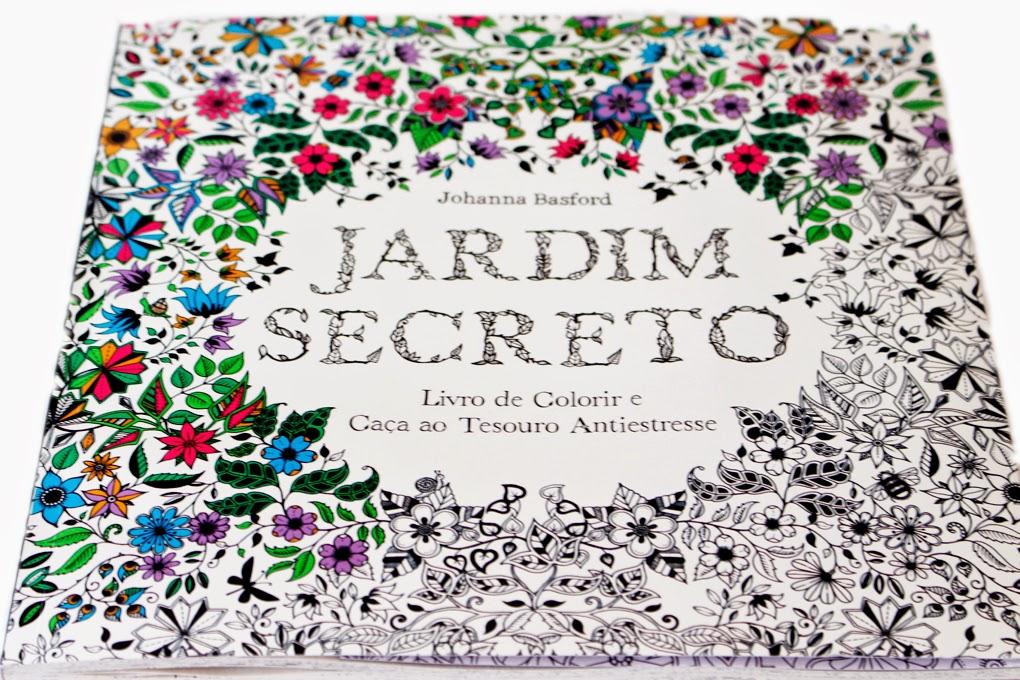Livro Jardim Secreto Portal Maes Brasileiras