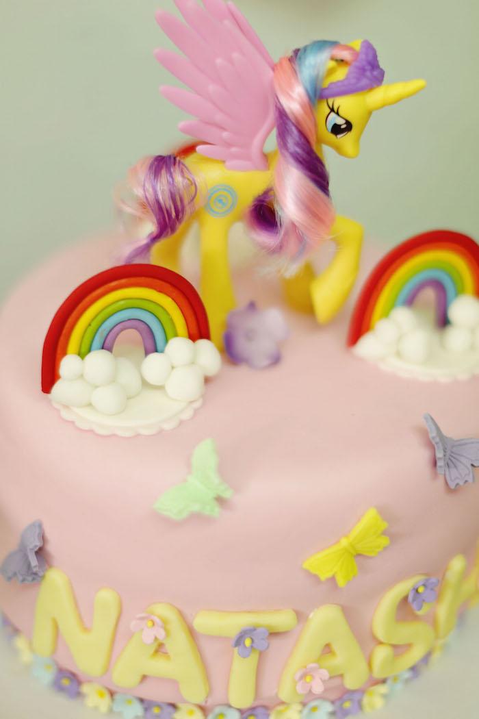 Festa tema My Little Poney bolo Mães Brasileiras