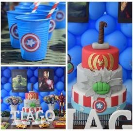 Festa Vingadores – Avengers Party