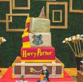 Festa de aniversário no Tema HARRY POTTER