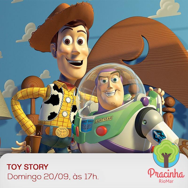 Peppa Pig e Toy Story alegram o final de semana no RioMar