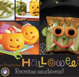 Halloween – Receitas de lanches divertidos e saudáveis