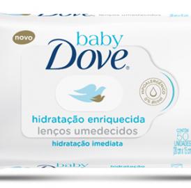 Lenços Umedecidos Baby Dove
