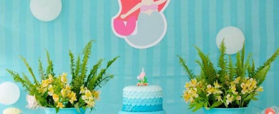 Festa de aniversário da Sereia