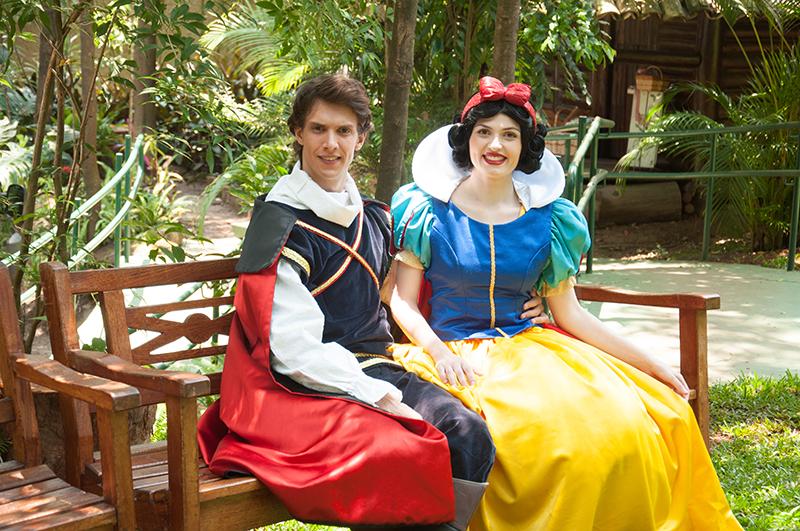 picnic mães Brasileiras branca de neve e príncipe encantado