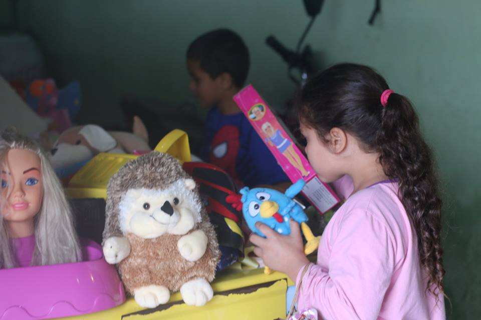 11º Encontro Mães Brasileiras doações de brinquedos4