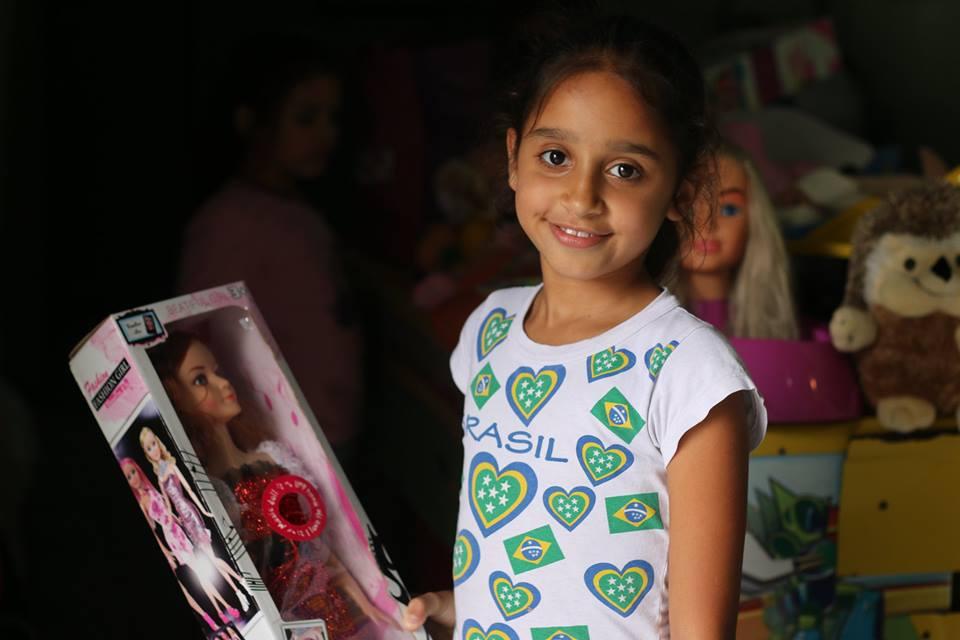 11º Encontro Mães Brasileiras doações de brinquedos6