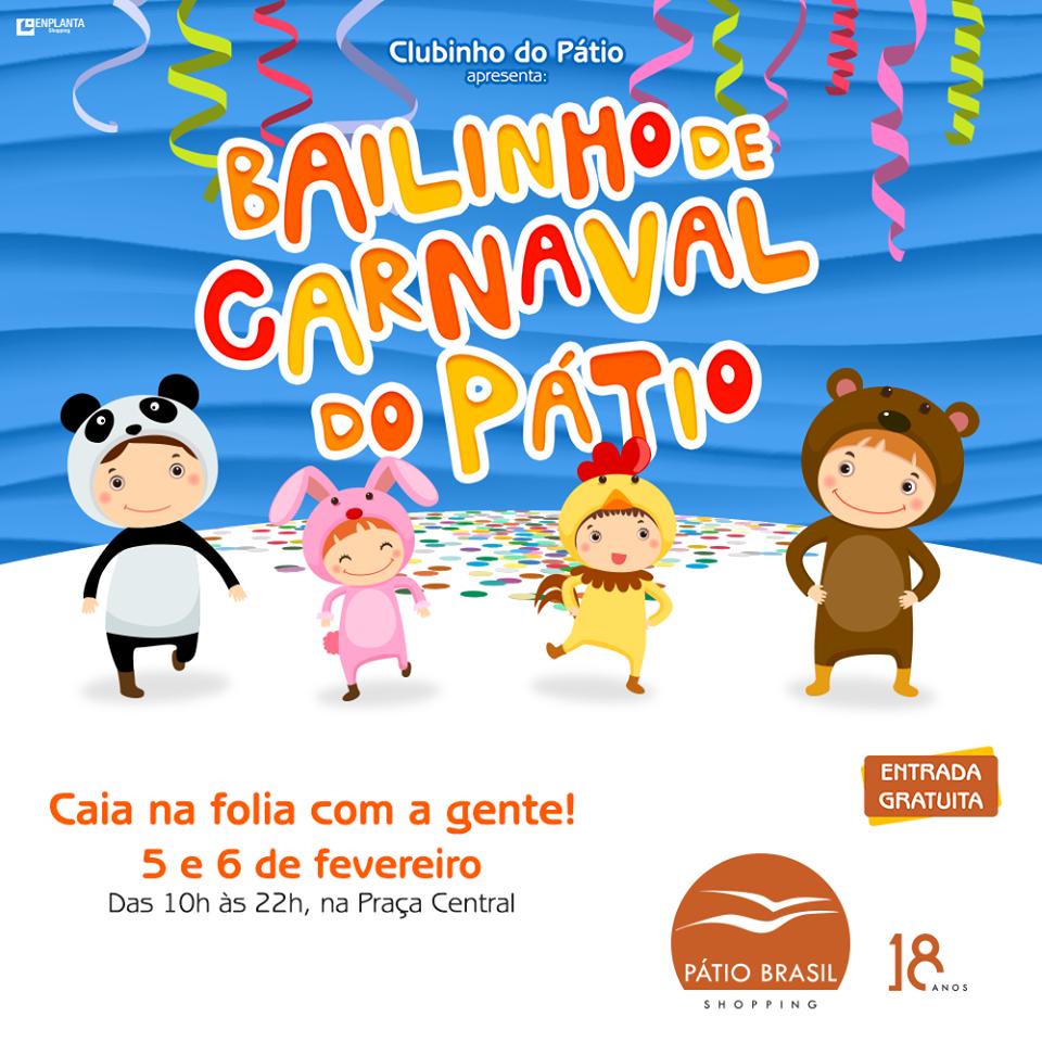 Carnaval para crianças em Brasília 1