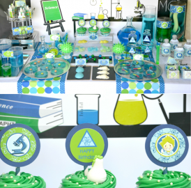 Festa cientista louco