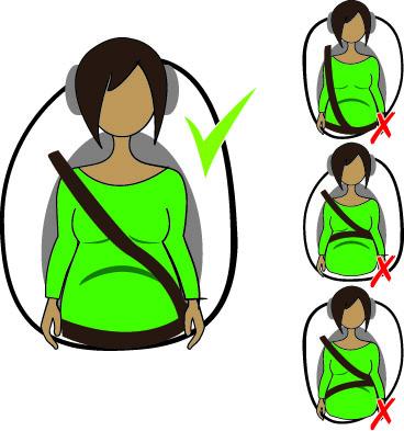 Como dirigir com seguranca durante gravidez