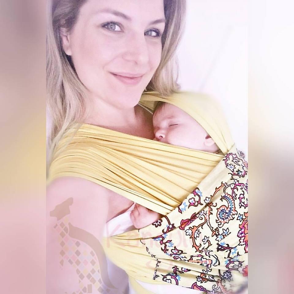 sling kangulu presente mãe de recem nascido