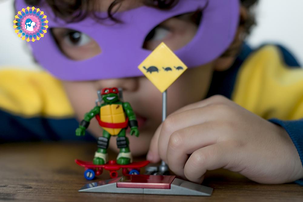 As Tartarugas Ninja megabloks-2