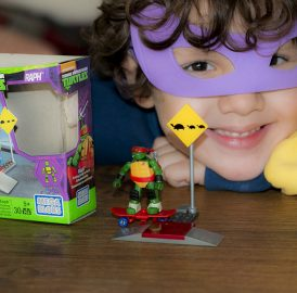As Tartarugas Ninja 2 + Lançamento do Mega Bloks Tartarugas Ninja
