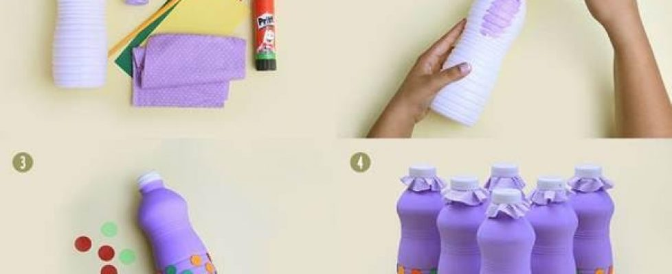 Boliche e Jacaré com embalagens recicláveis – Faça você mesmo