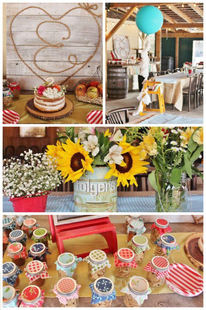 Tema de aniversário Festa Junina Chic Maesbrasileiras.com.br