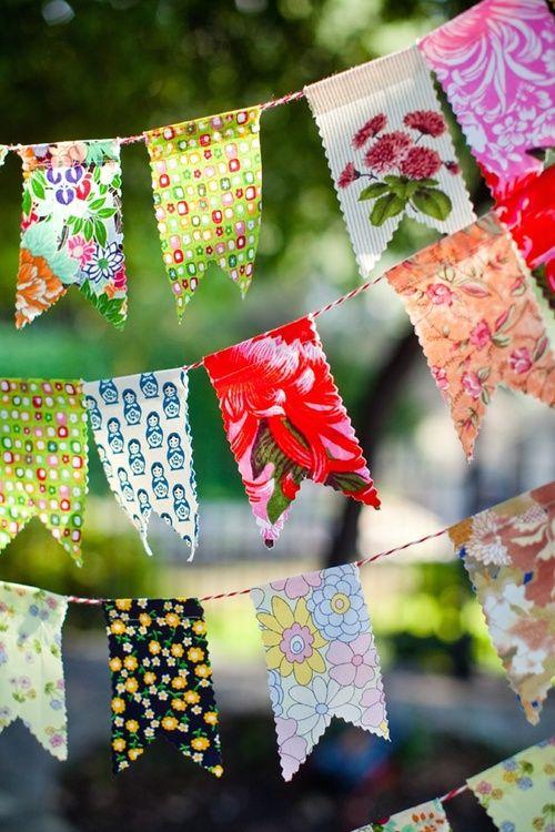 festa-junina-ideias-lindas-de-decoracao bandeirolas chic