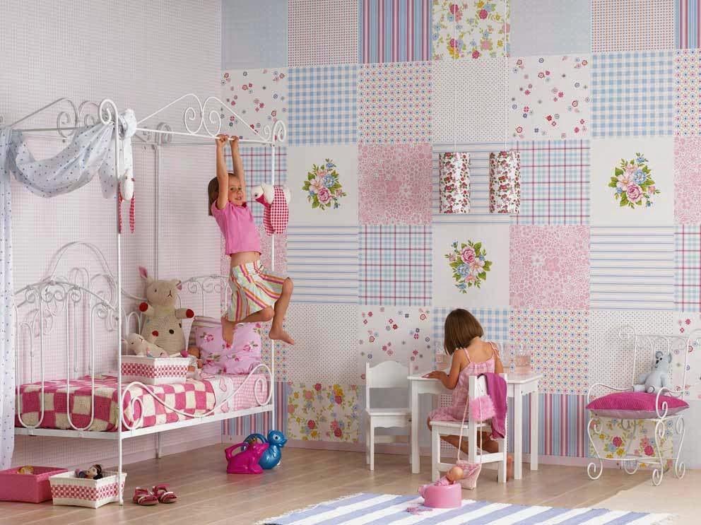 10 ideias de papel de parede para quarto Infantil 3