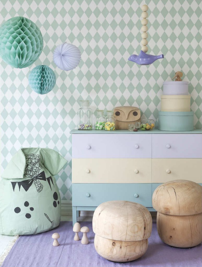 10 ideias de papel de parede para quarto de Infantil
