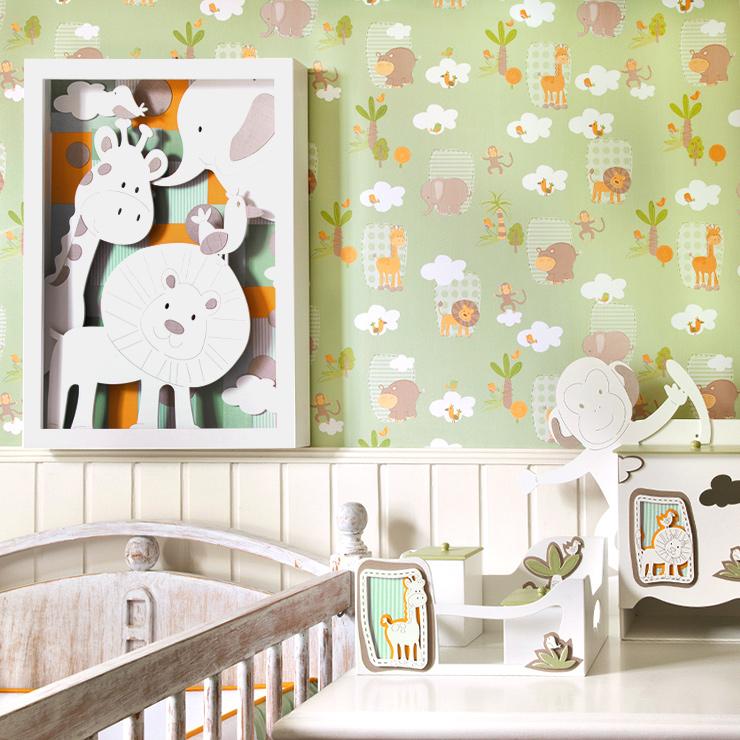 10 ideias de papel de parede para quarto de criança bobinex 4