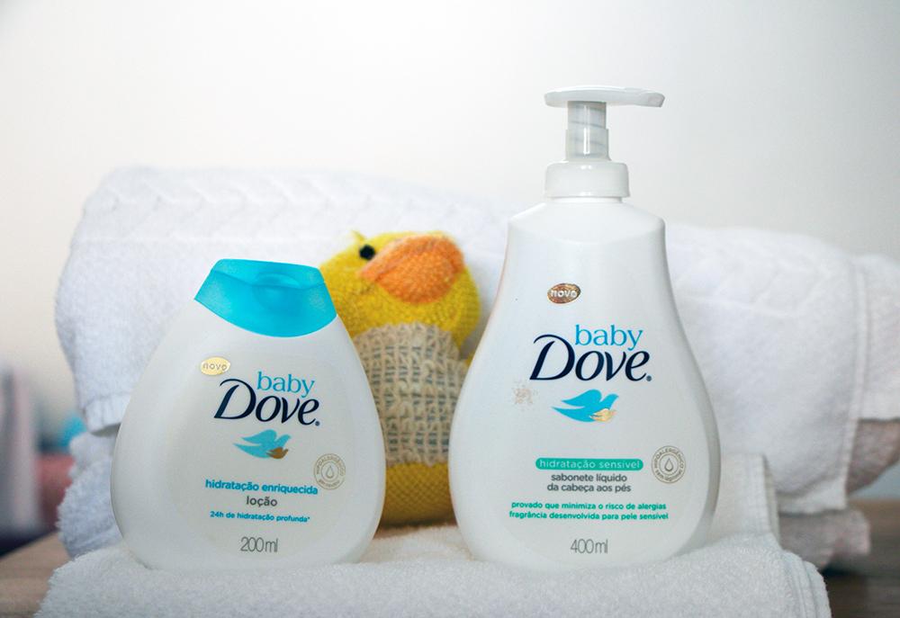 passo a passo para cuidar da pele do bebe baby Dove