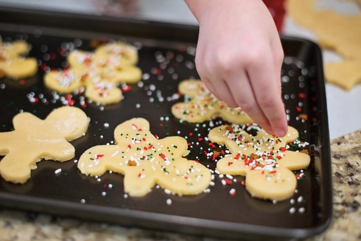 Pequenos chefs natalinos